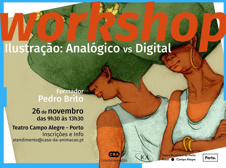Workshop de Ilustração – Analógico vs. Digital