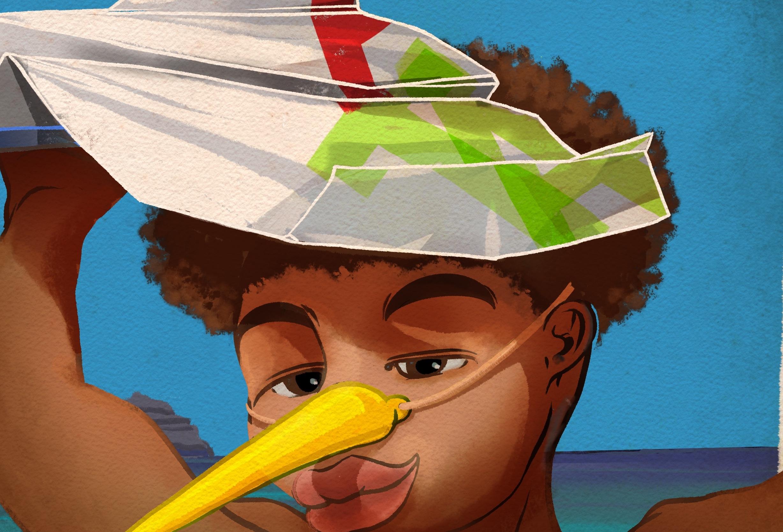 Pérola da Cidade do Mindelo em Cabo Verde.