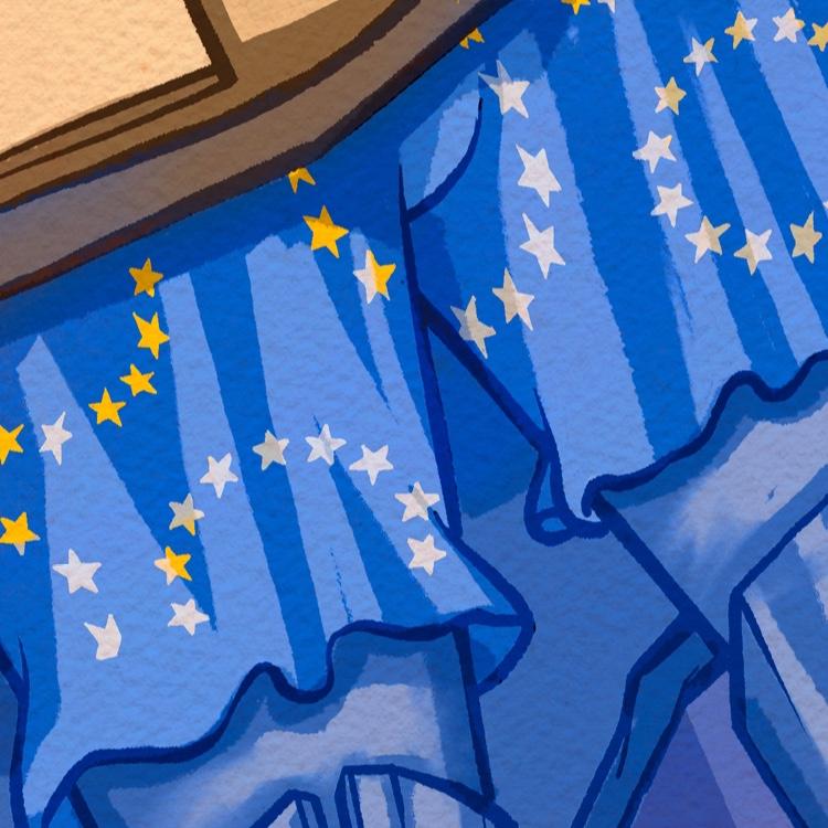 Europa, não sabe nadar, hey.