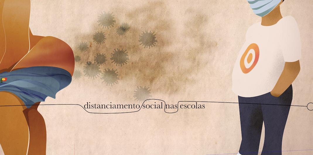 Distanciamento social nas… escolas